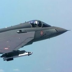 Watch: The light combat aircraft Tejas takes its first flight after being inducted into the IAF