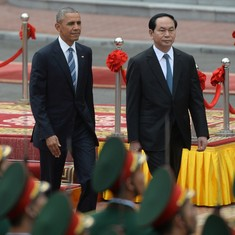 Obama's trip to Vietnam and Japan isn't just a friendly visit