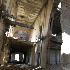 Photos: The palace ruins that perfectly reflect Afghanistan's slide