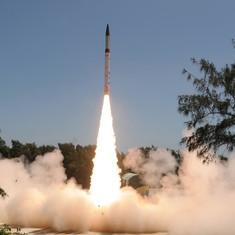 आधी दुनिया तक परमाणु हथियार ले जाने में सक्षम अग्नि-5 का परीक्षण सफल