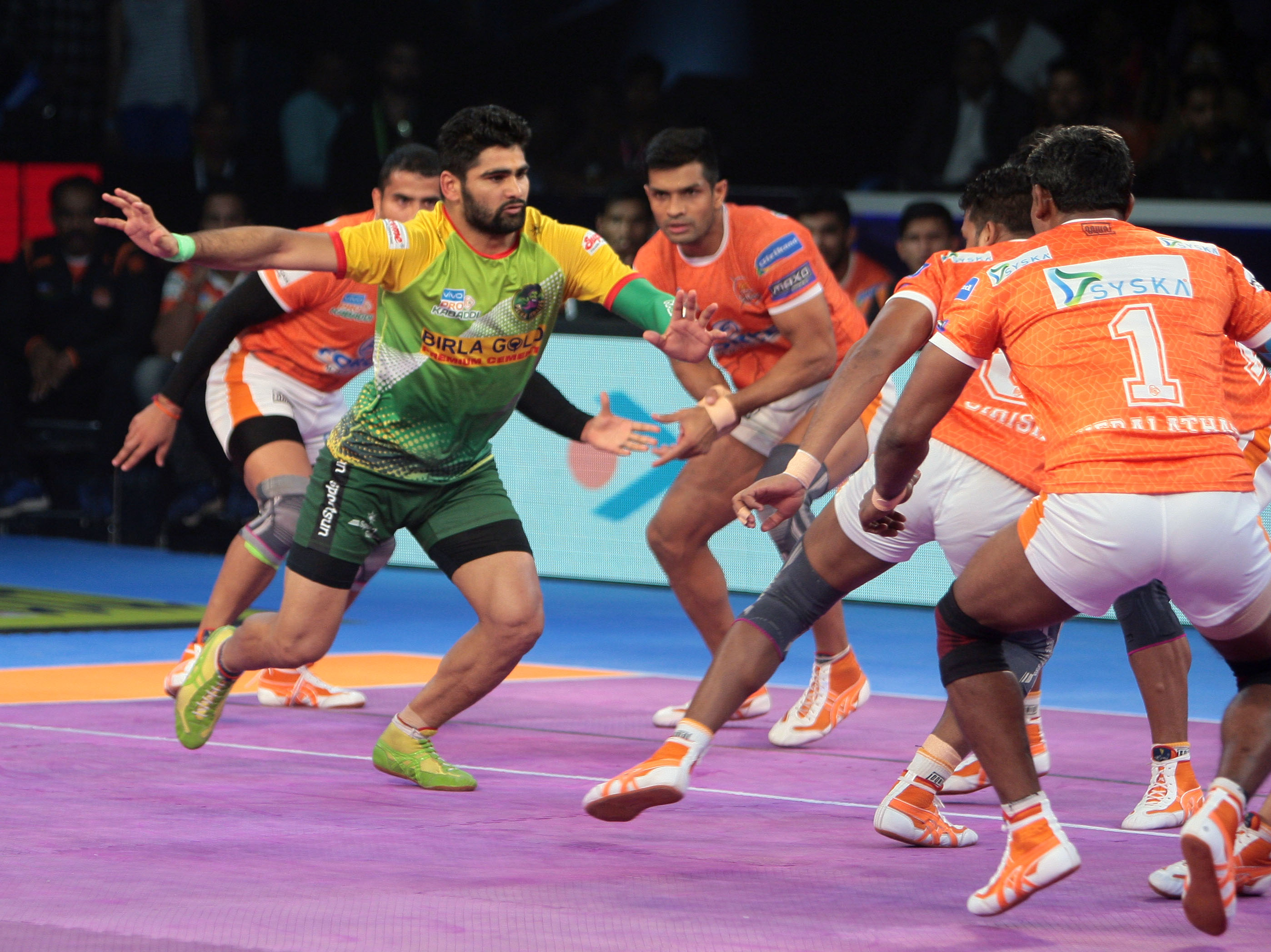 Pardeep Narwal powers Patna Pirates to third consecutive Pro Kabaddi title