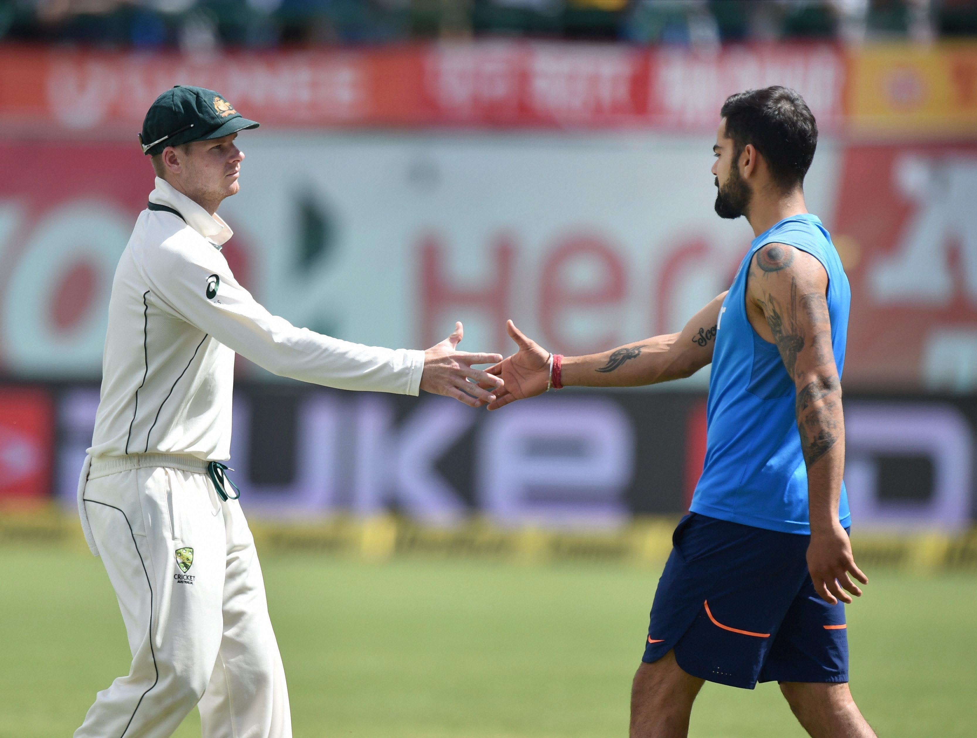 There was no love lost between India and Australia after an incident-filled Test series