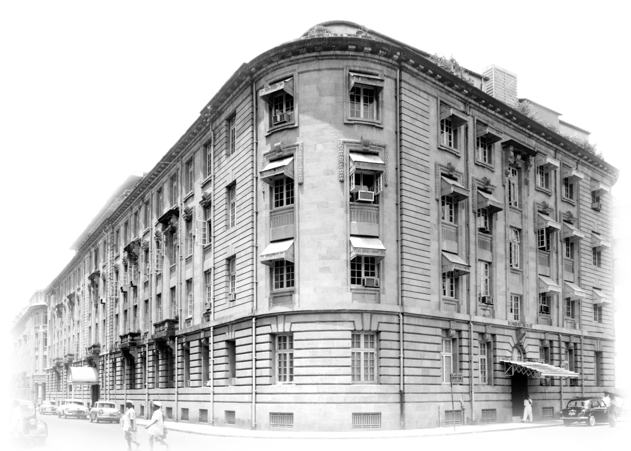 Bombay House serves as the head office of the Tata Group. Courtesy: Tata Central Archives