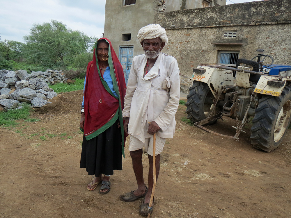 Shriram Gujjar, a 75-year-old widower who grazes goats, and his 70-year-old sister-in-law Neni Devi Gujjar, are both recorded as dead.