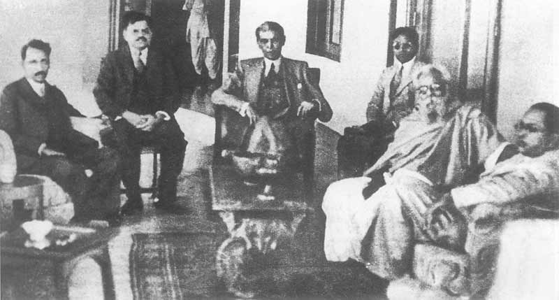 Ambedkar meets Jinnah and Periyar in 1940.