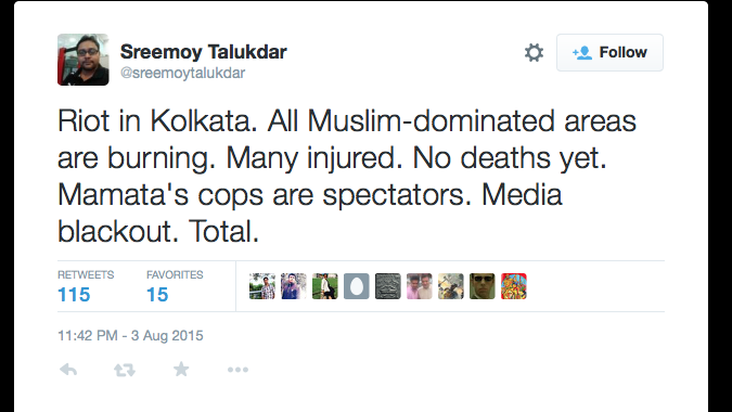 Talukdar is an editor at news website, Firstpost.