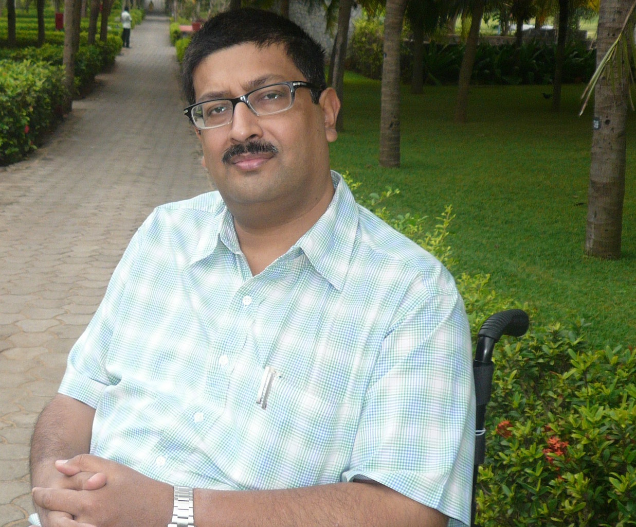 Javed Abidi, convener of the Disabled Rights Group.