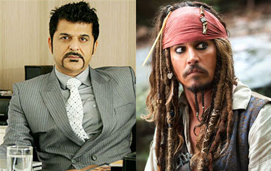 Rajesh Khattar, the voice of Johnny Depp's Jack Sparrow.