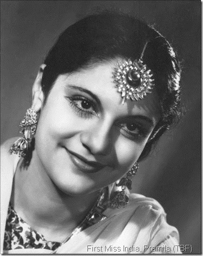 The actress-producer Pramila was also the first Miss India.