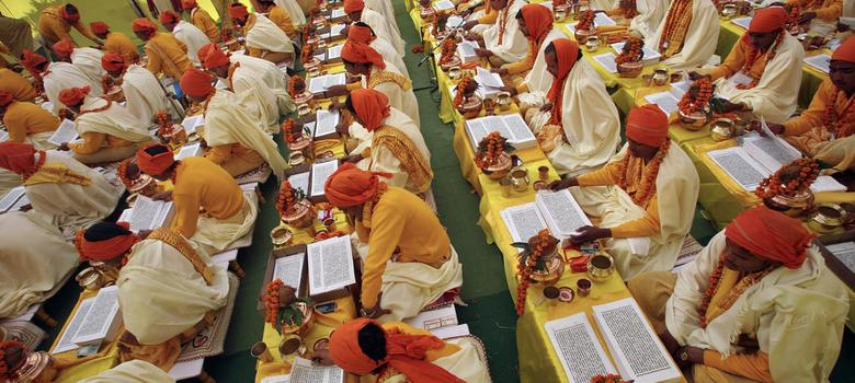VHP is compiling a 'new Hindu scripture' to provide religious sanction for Hindutva