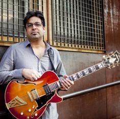Pakistani-American guitarist Rez Abbasi finds common chords