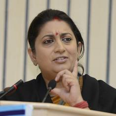 Dear Smriti Irani, stop giving my money to IITians