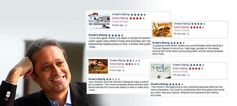 Meet Vineet Jain, Times Group co-owner and enthusiastic movie critic