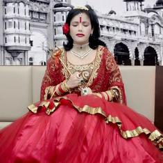 Delhi: Senior police officer transferred after picture shows Radhe Maa sitting on his chair