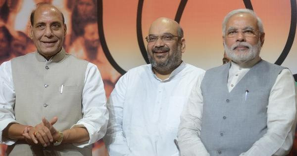 Did Amit Shah presage the home ministry's gag order on senior officials?