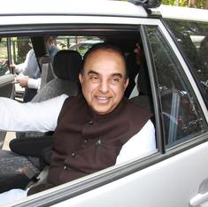 Will suspend demand for CEA's sacking as Centre says it has faith in him: Subramanian Swamy