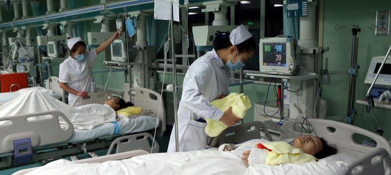 Despite their economic strides, China and India lag on healthcare