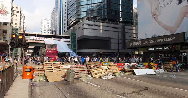 Boundaries of illegality blur as Hong Kong protests rumble on