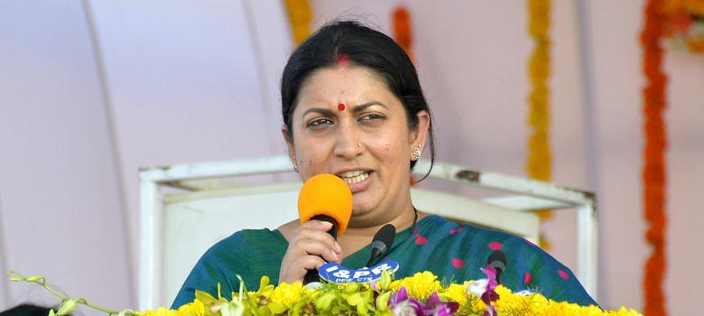 Smriti Irani plans to use dinner diplomacy to beef up her drooping fortunes