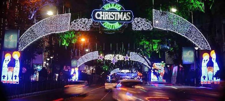 Park Street Kolkata During Christmas.In Photos Glimpses Of A Bengali Christmas On Kolkata S Park