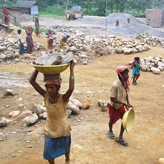 One of every ten workers in Raichur's granite mines is a child
