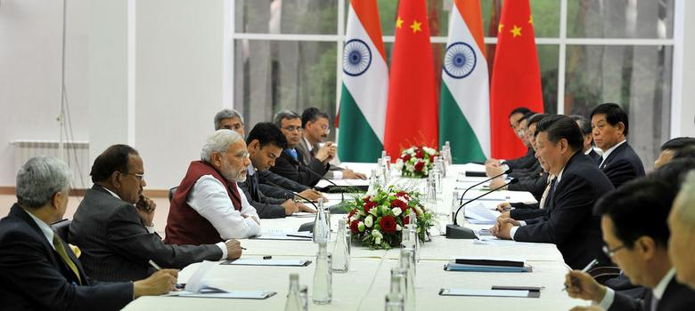 Prime Minister Modi takes up Lakhvi issue with Chinese President