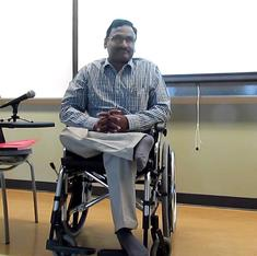 Why GN Saibaba's lawyers must take the State to court for the violation of his disability rights