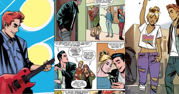 Archie comics get a newer, darker look to connect to today's readers