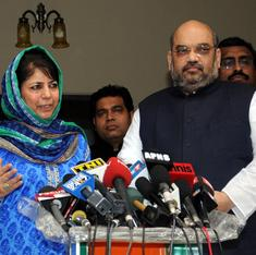 The Daily Fix: Two months of pre-nuptial negotiations and yet the PDP-BJP marriage is already under fire