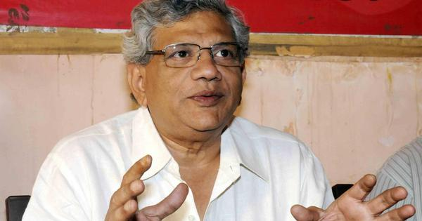 Sitaram Yechury points at ministers' identical tweets on note ban, says Cabinet changes won't matter