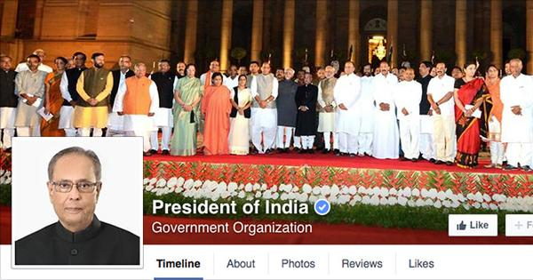 How India's president is winning friends and influencing people on Facebook