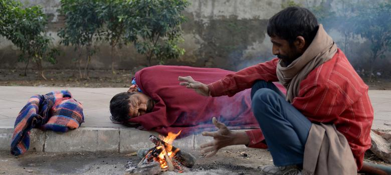 Why Delhi's homeless prefer to sleep in the freezing cold than in government shelters