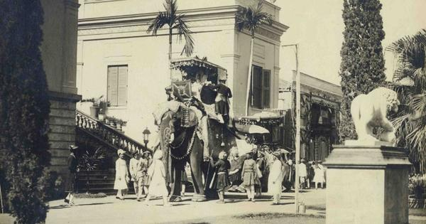 Royal weddings, contorted athletes and lonely landscapes: how early photographers saw India