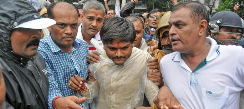 How Gujarat government stole the thunder from Hardik Patel
