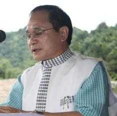 Nabam Tuki takes charge as chief minister of Arunachal Pradesh