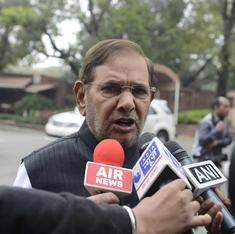 Sharad Yadav unapologetic for sexist remarks, says he welcomes notice from women's commission