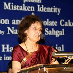 Nayantara Sahgal denies taking back Sahitya Akademi award
