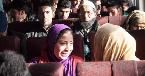 On a packed train to Kashmir, conversations about empty polling booths