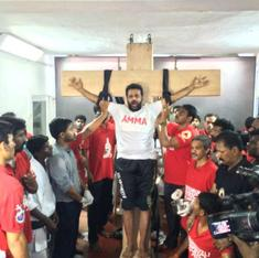 The guy who crucified himself for Jayalalithaa was a stuntman – but it doesn't make Amma devotion less crazy