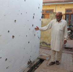 Indo-Pak firing puts craters in Jammu's basmati bowl