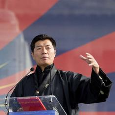 Tibetan PM warns that India and China can't sidestep his country if they aim for peaceful ties