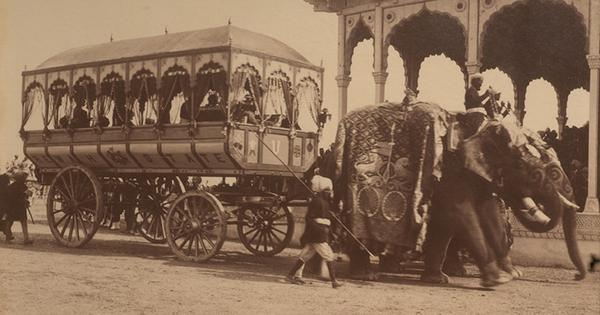 Rare photos of one of India's first women drivers and other transport miracles