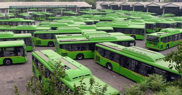 Delhi's declining bus use points to mass transit failures