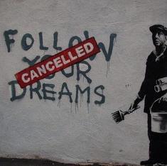 Six biting pieces of graffiti by the maverick artist Banksy