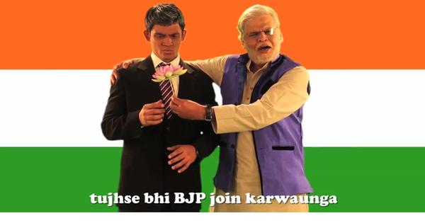 Watch Modi promise to enroll Obama in the BJP in this epic rap battle
