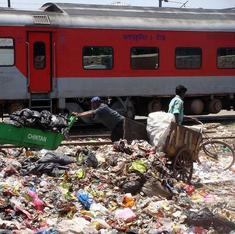 Railways gear up to tackle the 6,289 tons of plastic that litter its tracks every day