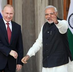 After a private dinner and gift exchange, Modi and Putin will talk defence, energy today