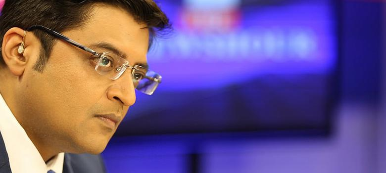 This week, Newshour anchor Arnab Goswami suddenly became the news