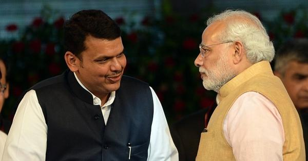 [In pictures] Fadnavis sworn in as the first BJP chief minister of Maharashtra in a lavish ceremony