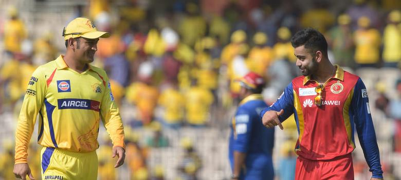 Image result for rOYAL CHALLENGER BANGALORE VS CHENNAI SUPER KINGS